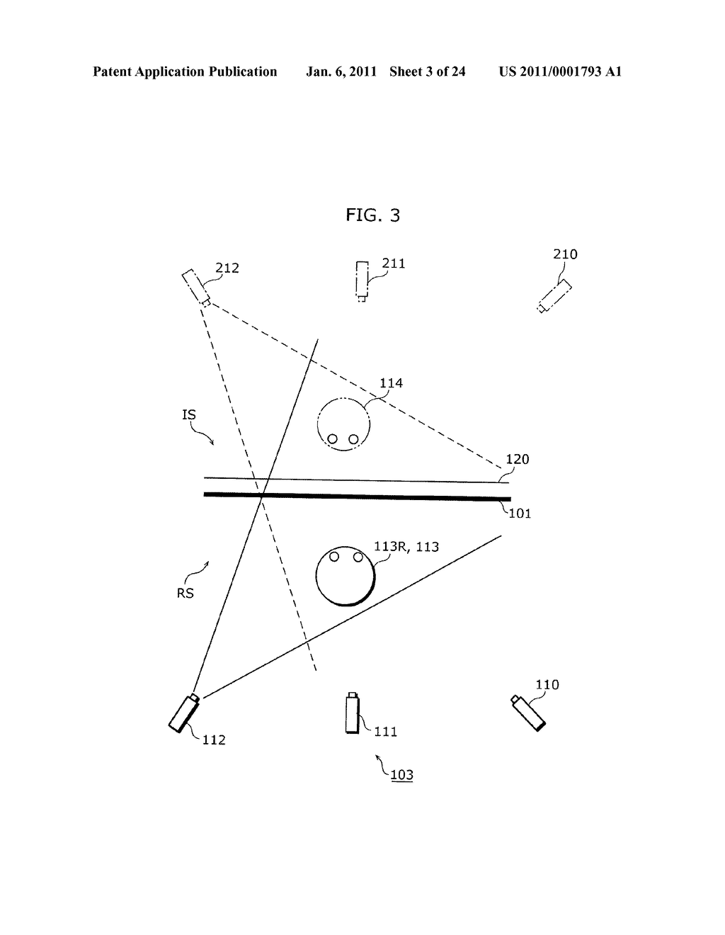 THREE-DIMENSIONAL SHAPE MEASURING APPARATUS, INTEGRATED CIRCUIT, AND THREE-DIMENSIONAL SHAPE MEASURING METHOD - diagram, schematic, and image 04