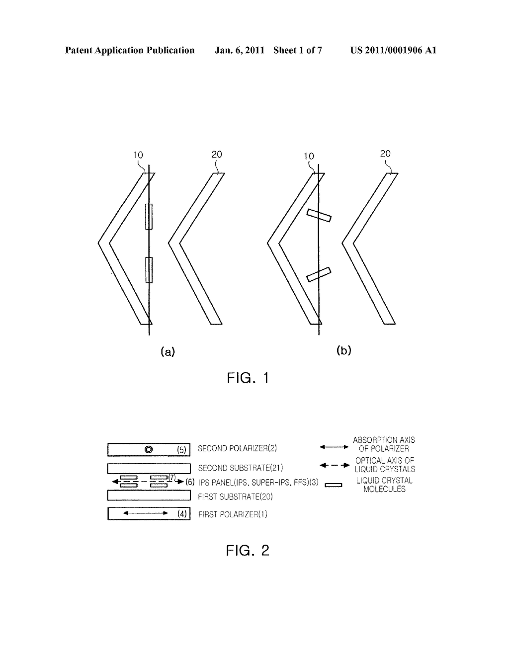 POLARIZING PLATE WITH BUILT-IN VIEWING ANGLE COMPENSATION FILM AND IPS-LCD COMPRISING SAME - diagram, schematic, and image 02