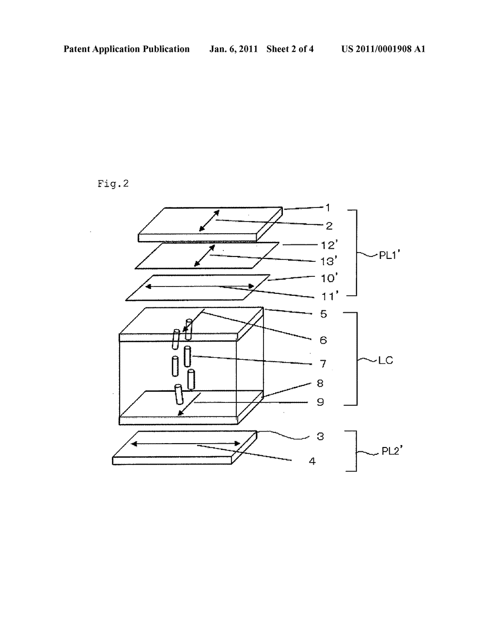 LIQUID-CRYSTAL DISPLAY DEVICE - diagram, schematic, and image 03
