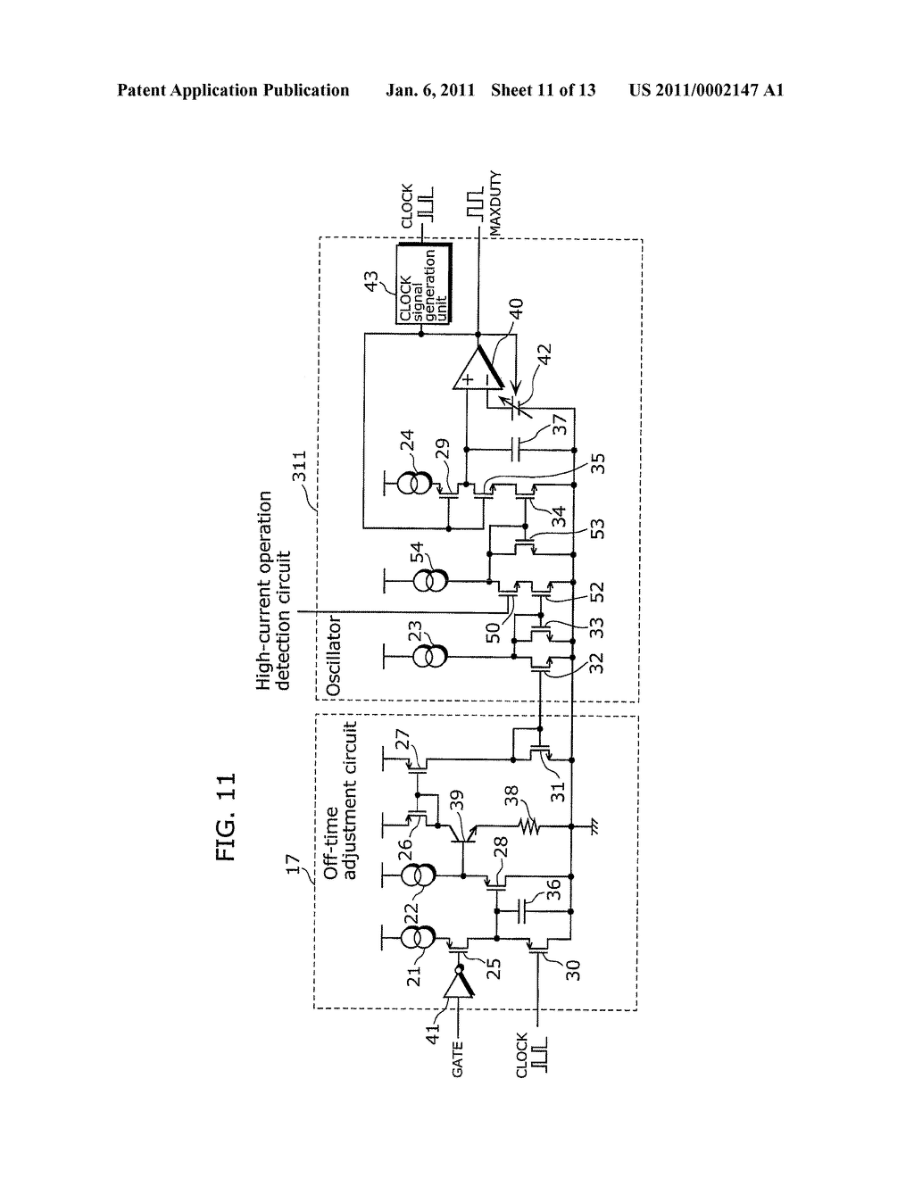 SWITCHING POWER SUPPLY APPARATUS AND SEMICONDUCTOR DEVICE FOR SWITCHING POWER SUPPLY REGULATION - diagram, schematic, and image 12
