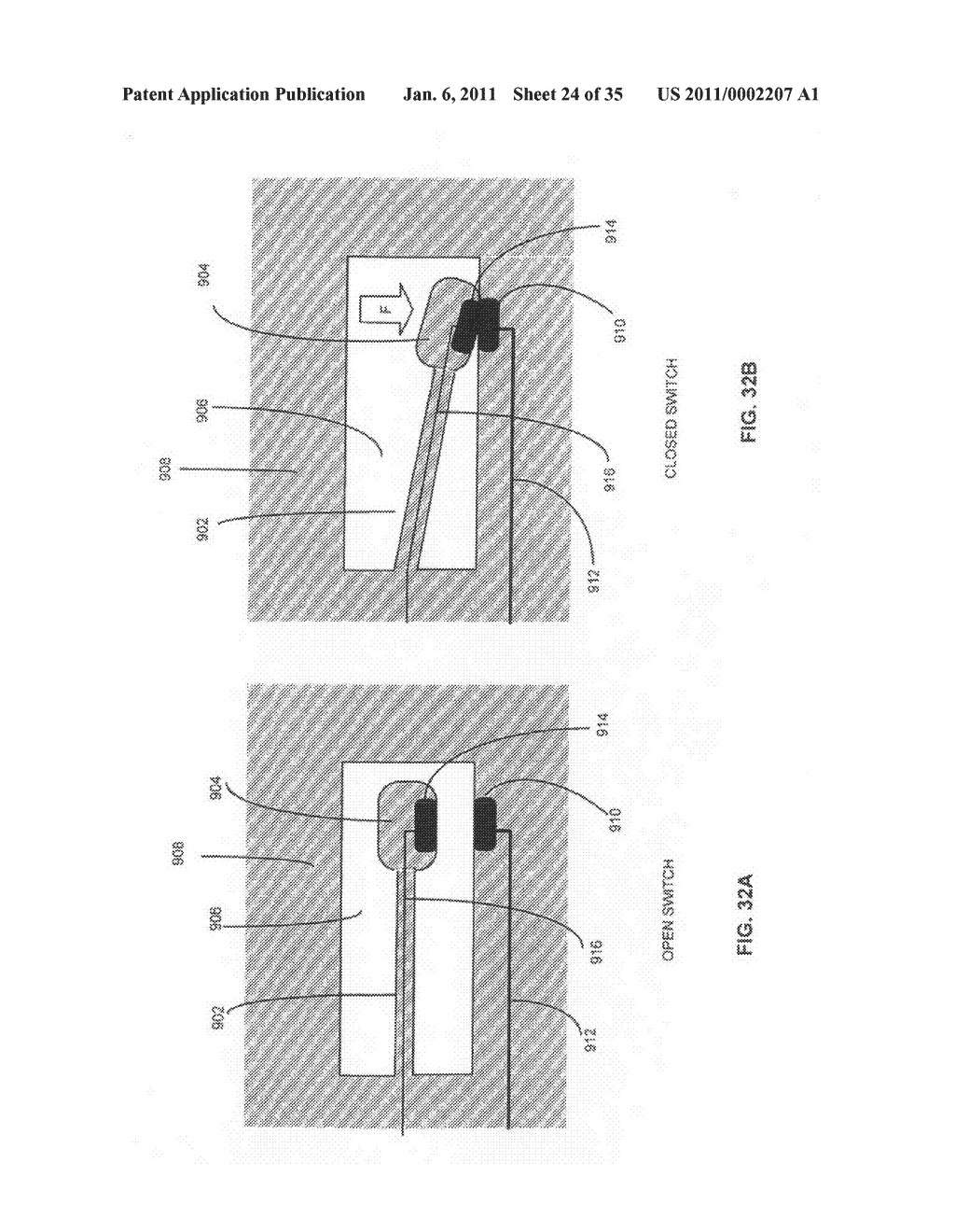 Method and system for fluid mediated disk activation and deactivation - diagram, schematic, and image 25