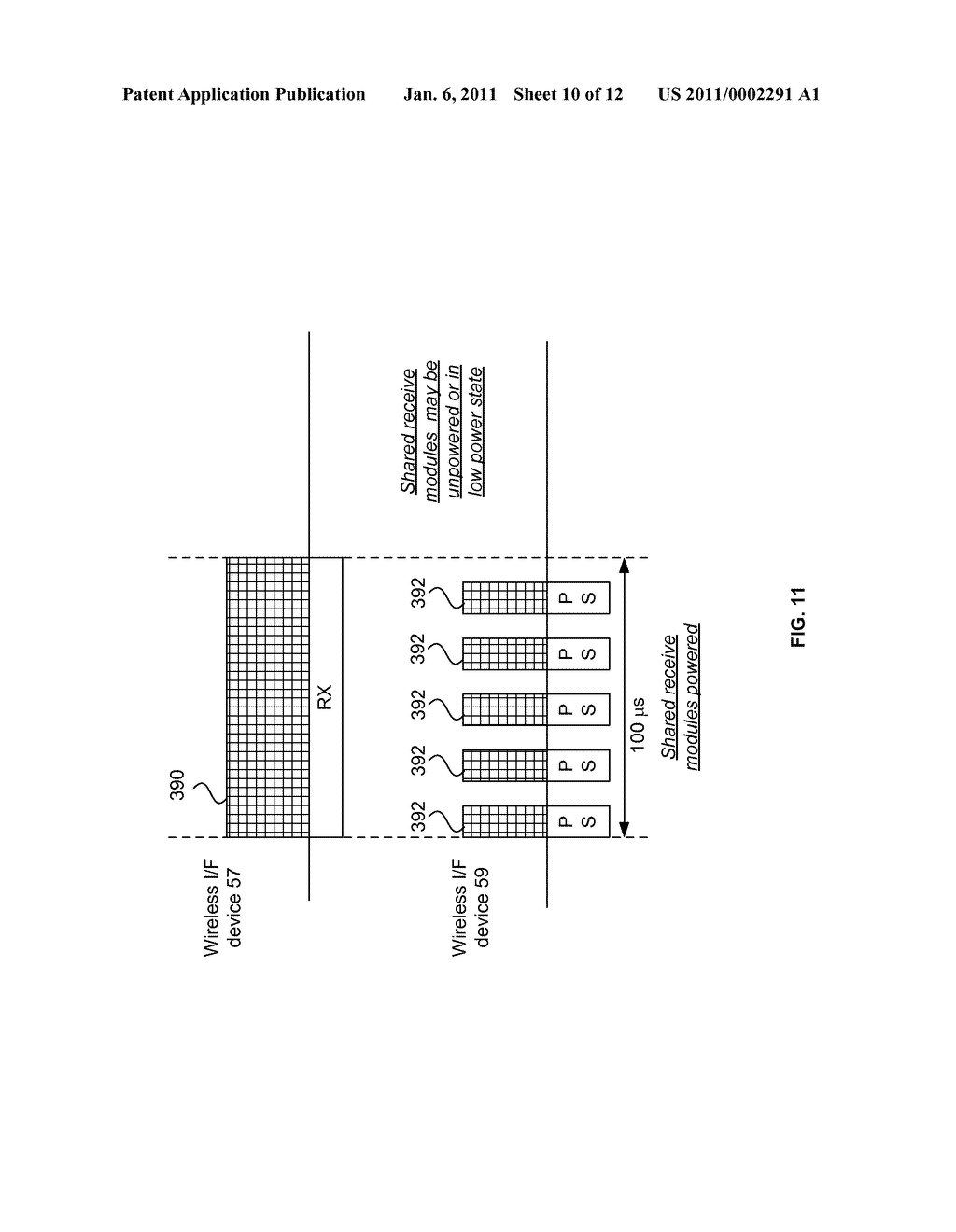 Cooperative Transceiving Between Wireless Interface Devices of a Host Device with Shared Modules - diagram, schematic, and image 11