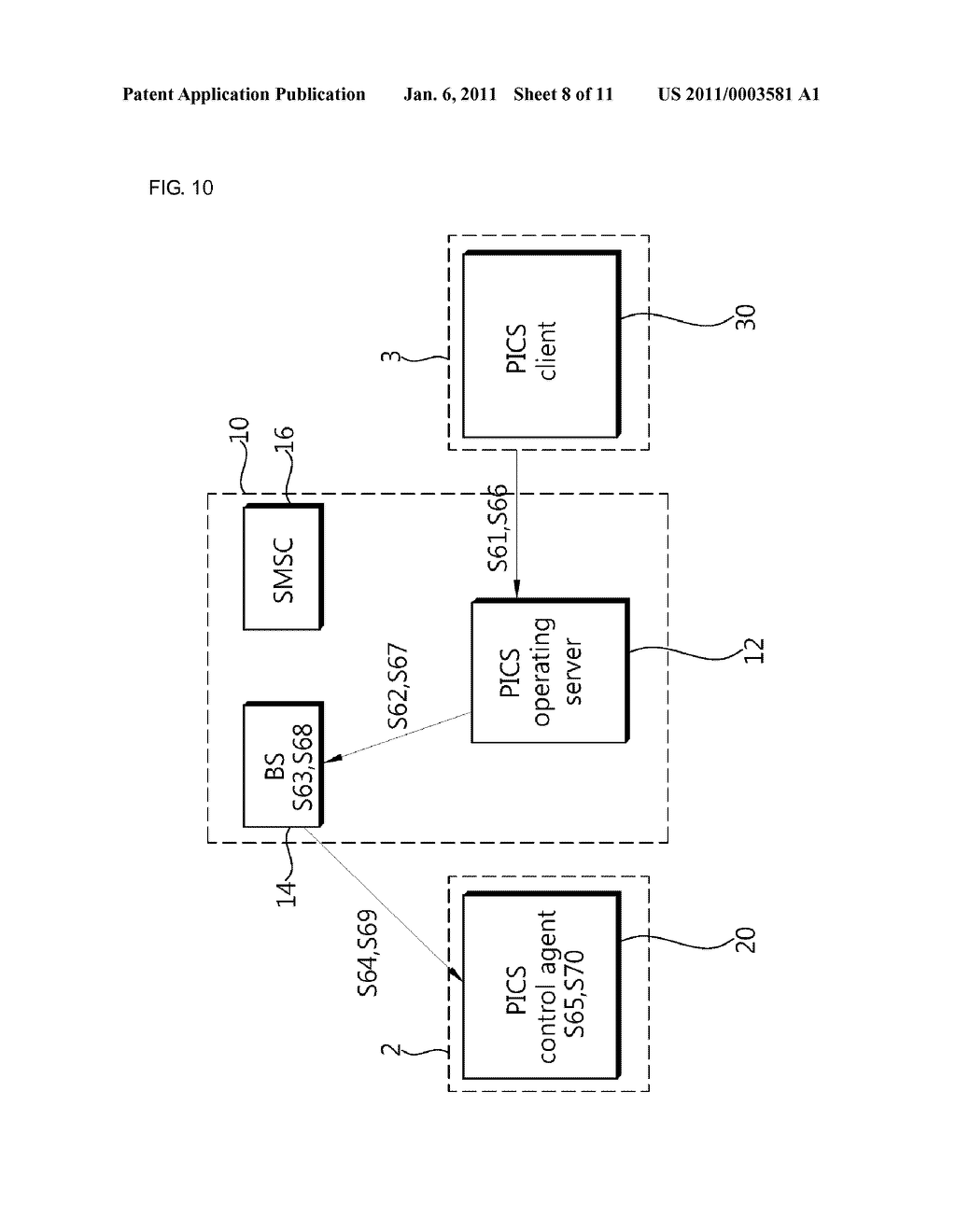 METHOD AND SYSTEM OF PROVIDING PERSONAL INFORMATION CONTROL SERVICE FOR MOBILE COMMUNICATION TERMINAL - diagram, schematic, and image 09