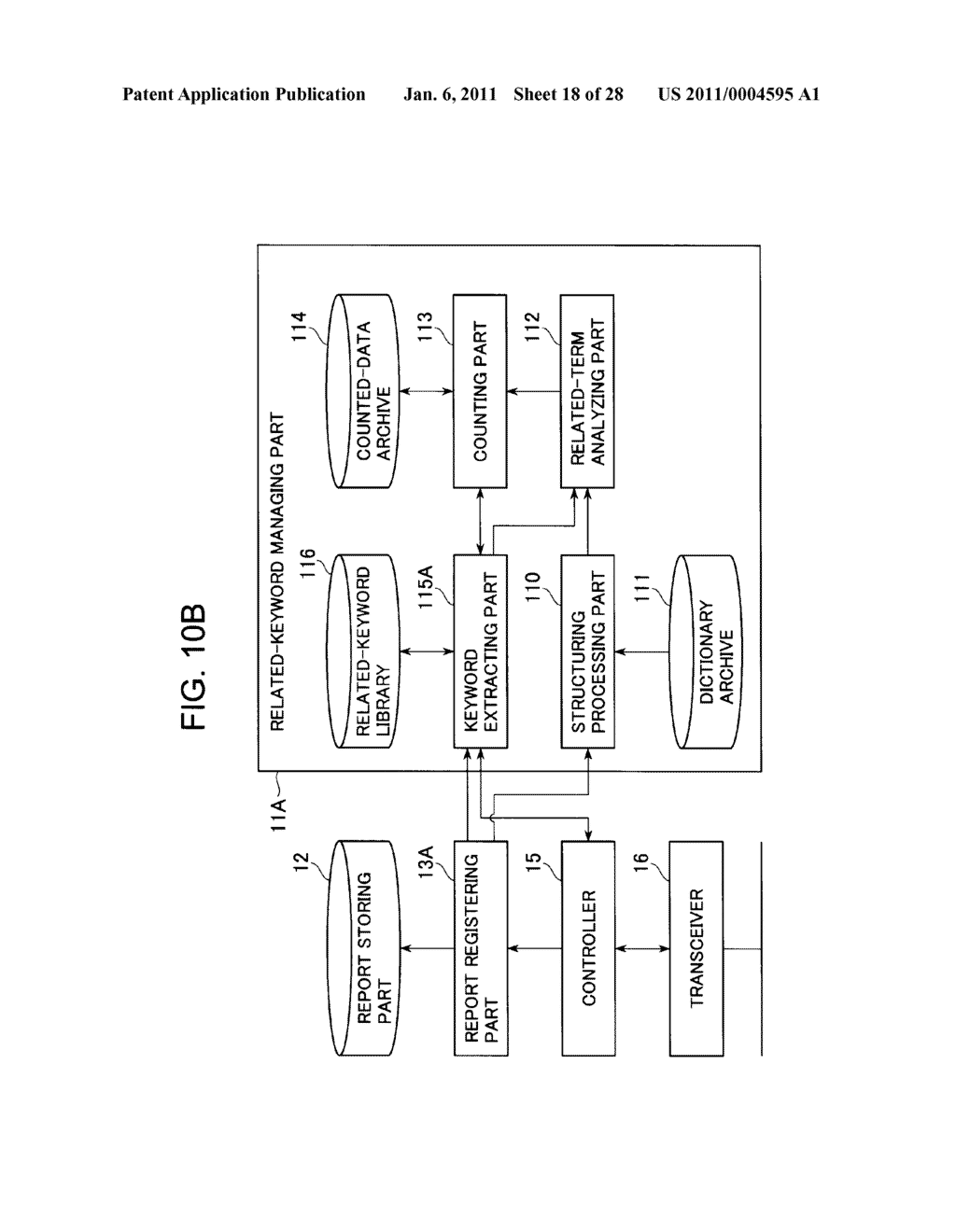 DIAGNOSTIC REPORT SEARCH SUPPORTING APPARATUS AND DIAGNOSTIC REPORT SEARCHING APPARATUS - diagram, schematic, and image 19