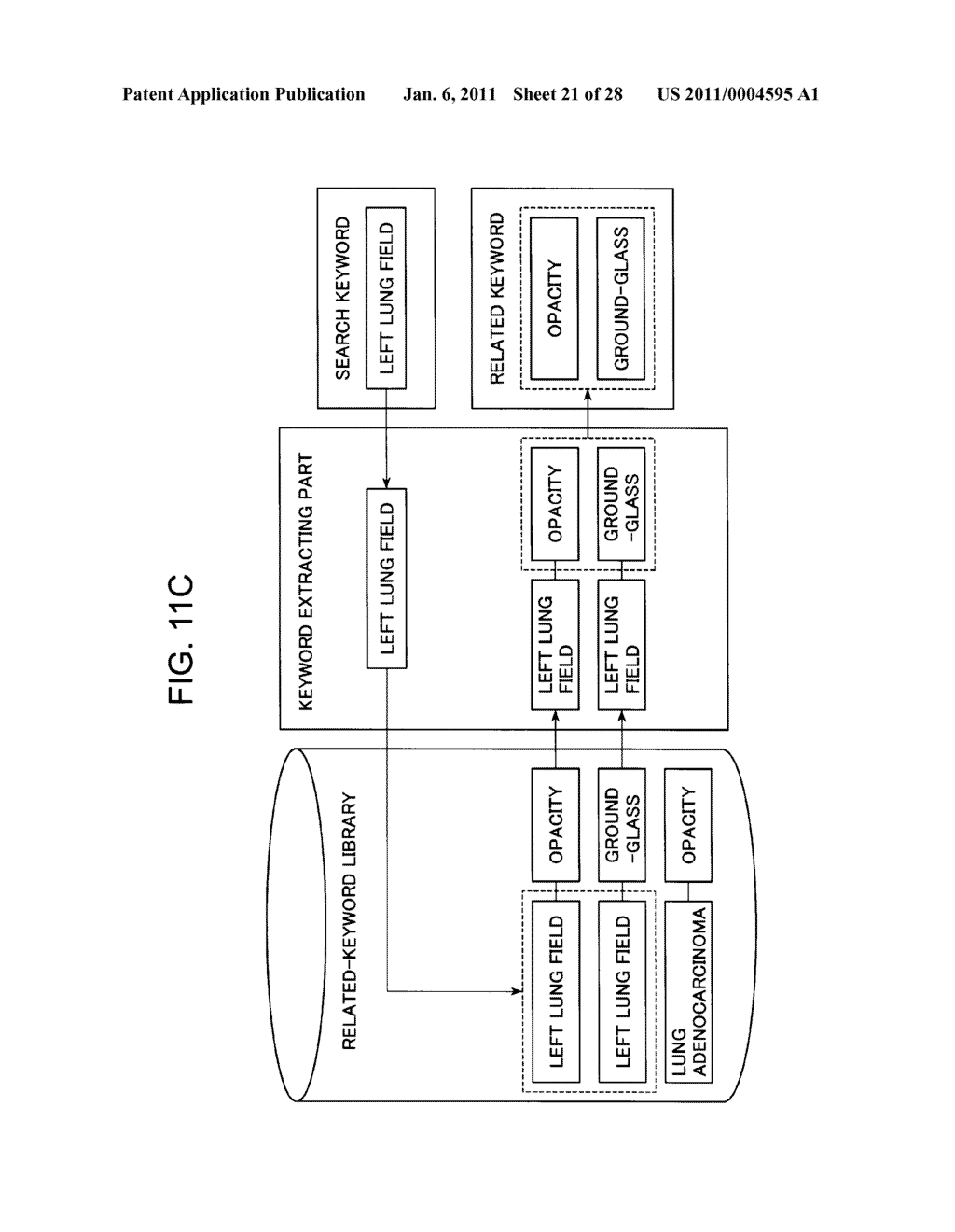 DIAGNOSTIC REPORT SEARCH SUPPORTING APPARATUS AND DIAGNOSTIC REPORT SEARCHING APPARATUS - diagram, schematic, and image 22