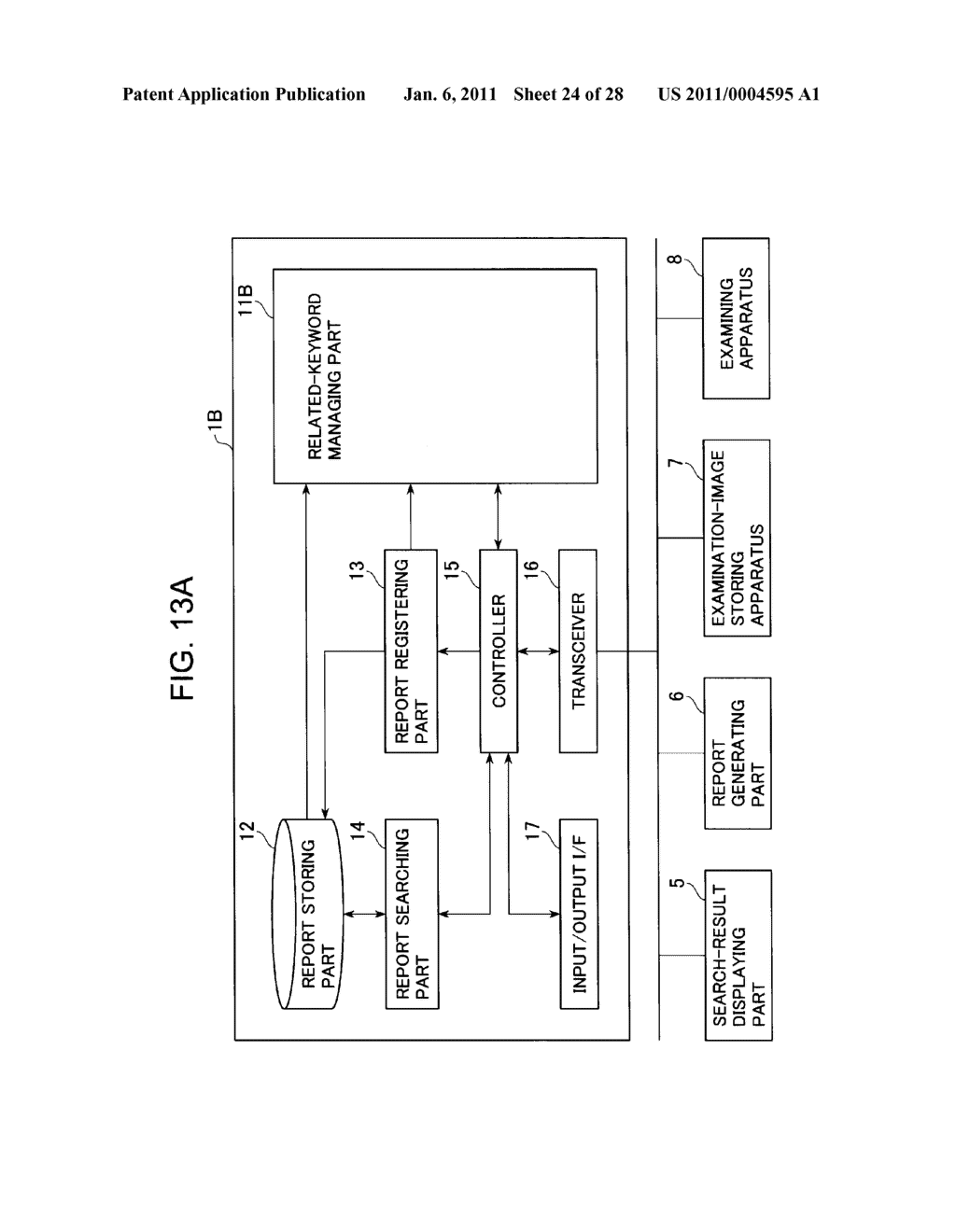 DIAGNOSTIC REPORT SEARCH SUPPORTING APPARATUS AND DIAGNOSTIC REPORT SEARCHING APPARATUS - diagram, schematic, and image 25