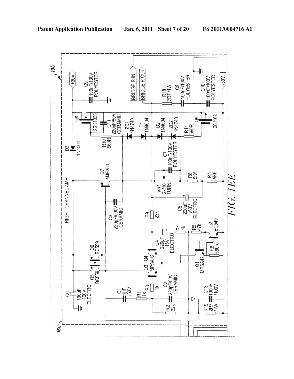 Discrete Lateral Mosfet Power Amplifier Expansion Card Diagram 100w With Pcb Circuit Diy Schematic And Image 08