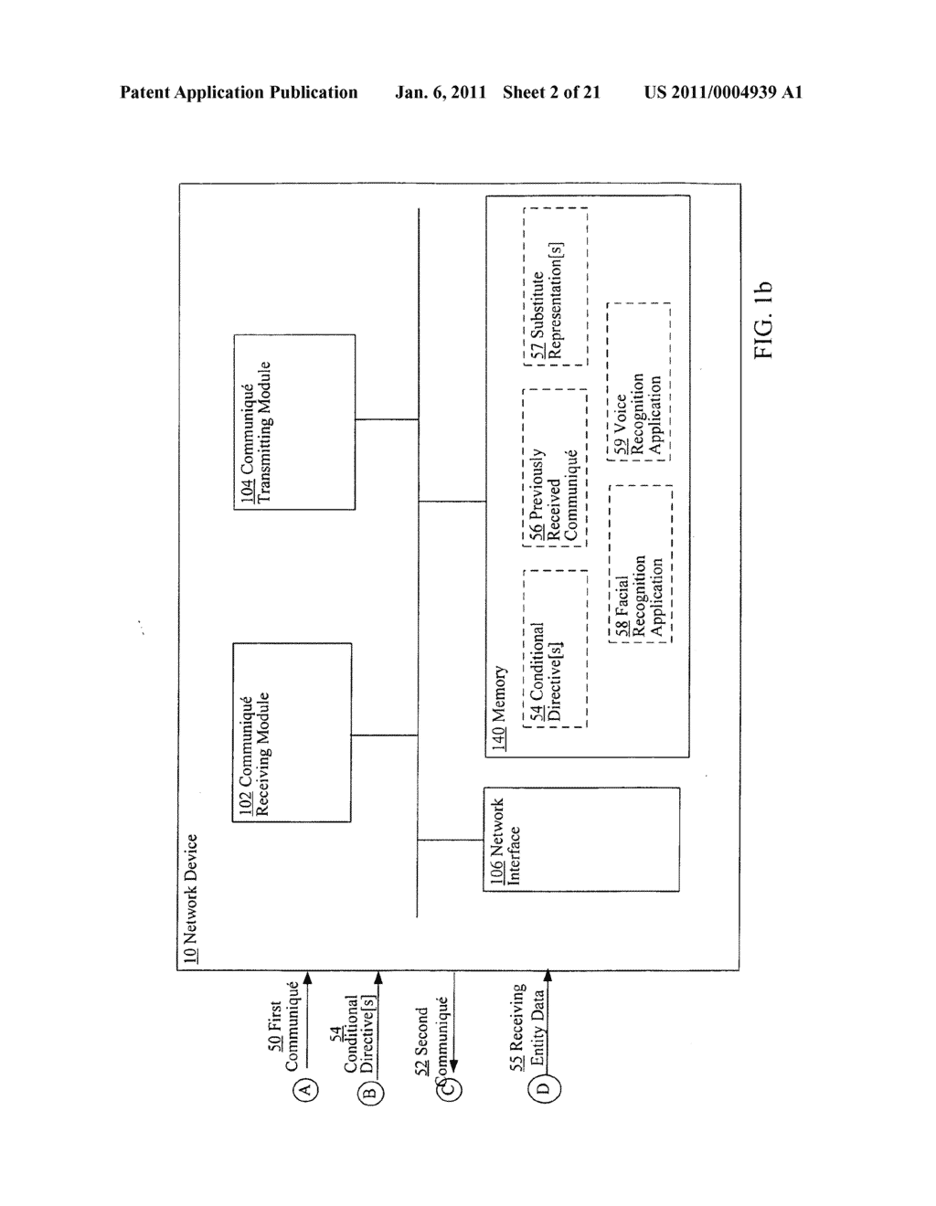 Obfuscating identity of a source entity affiliated with a communique in accordance with conditional directive provided by a receiving entity - diagram, schematic, and image 03