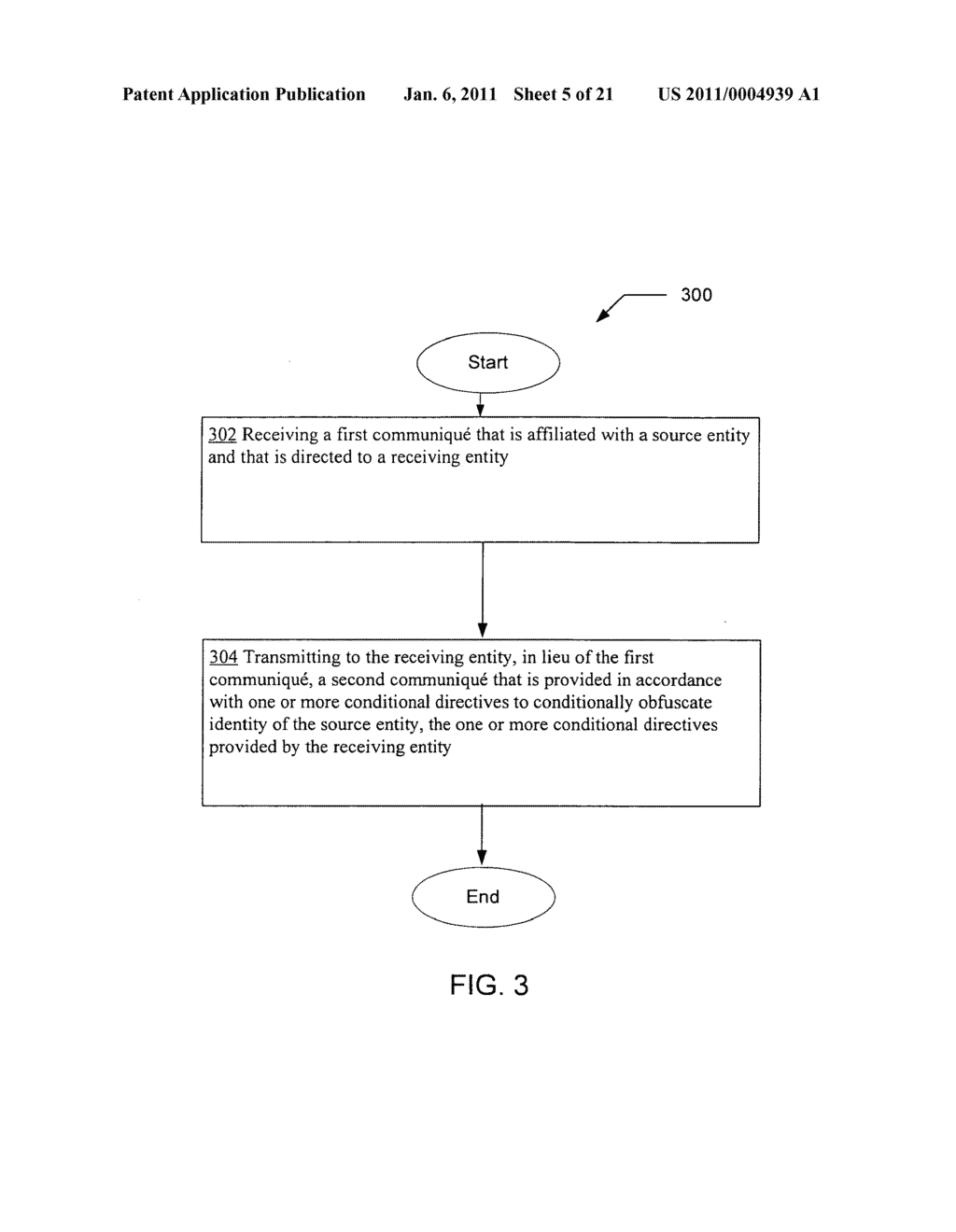 Obfuscating identity of a source entity affiliated with a communique in accordance with conditional directive provided by a receiving entity - diagram, schematic, and image 06