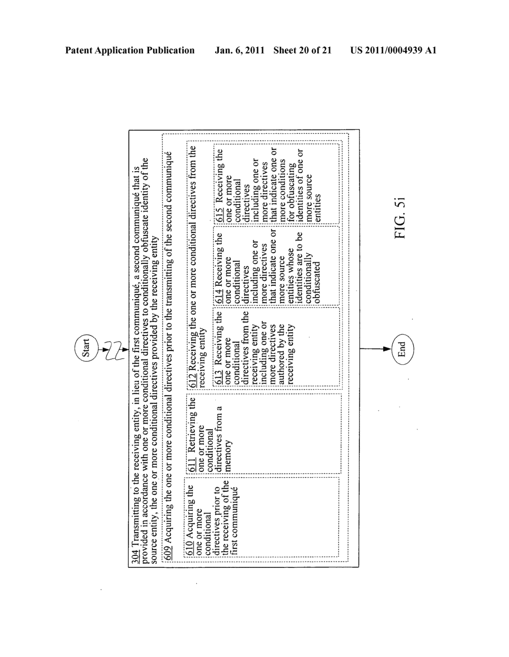 Obfuscating identity of a source entity affiliated with a communique in accordance with conditional directive provided by a receiving entity - diagram, schematic, and image 21