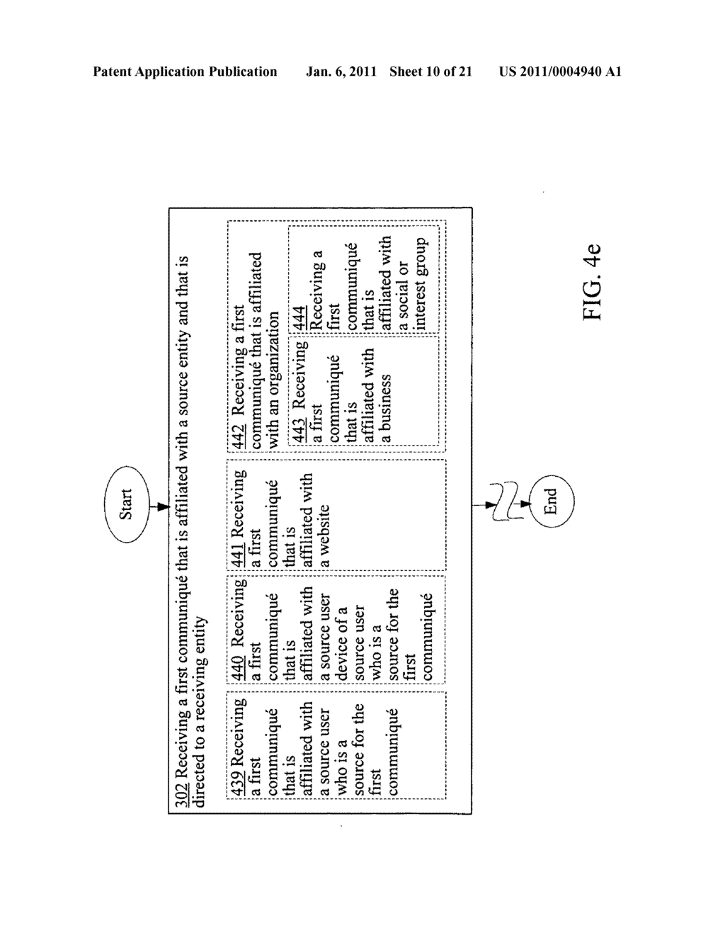 Obfuscating identity of a source entity affiliated with a communique in accordance with conditional directive provided by a receiving entity - diagram, schematic, and image 11