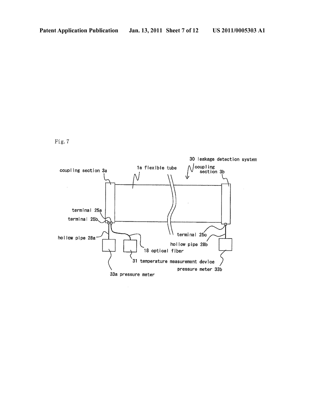 FLUID CONVEYING TUBE AND FLUID LEAKAGE DETECTING SYSTEM - diagram, schematic, and image 08