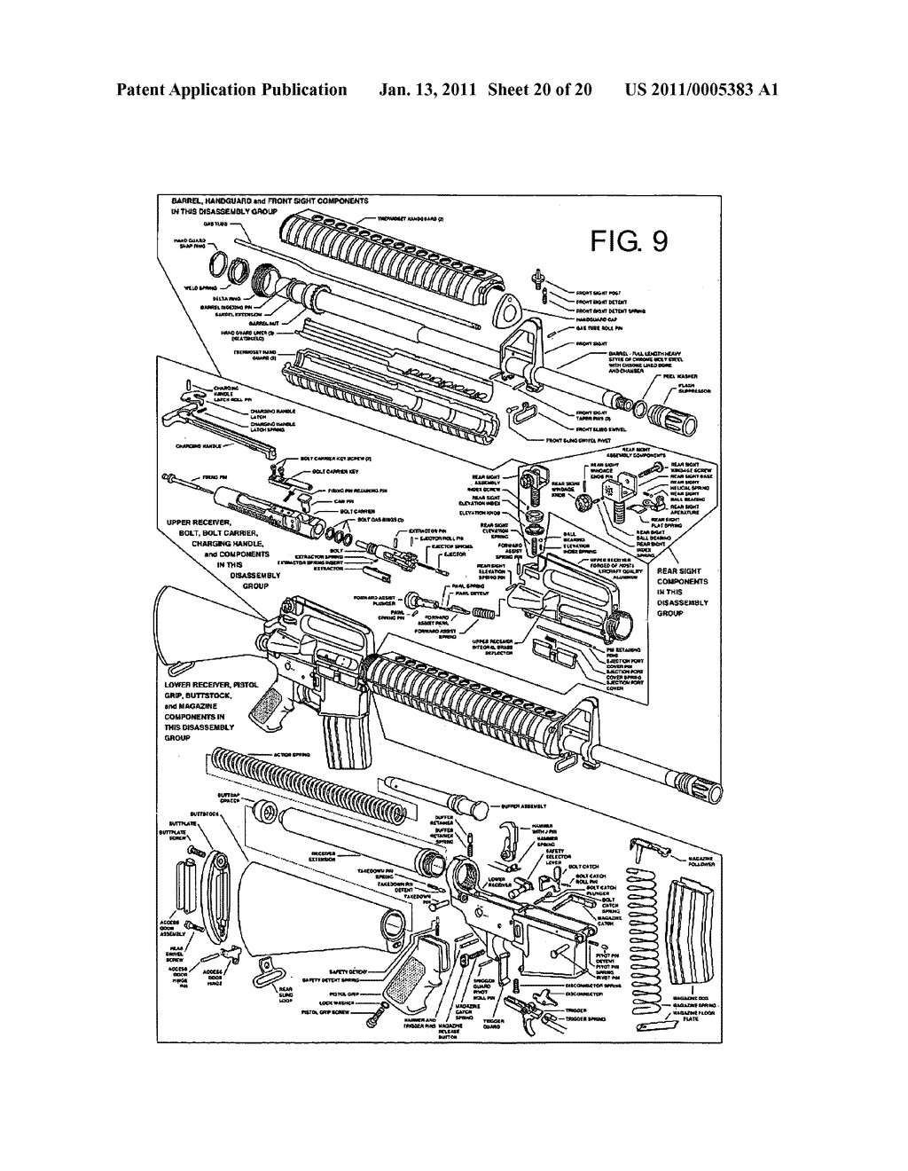 CARTRIDGES AND MODIFICATIONS FOR M16/AR15 RIFLE - diagram, schematic, and  image 21