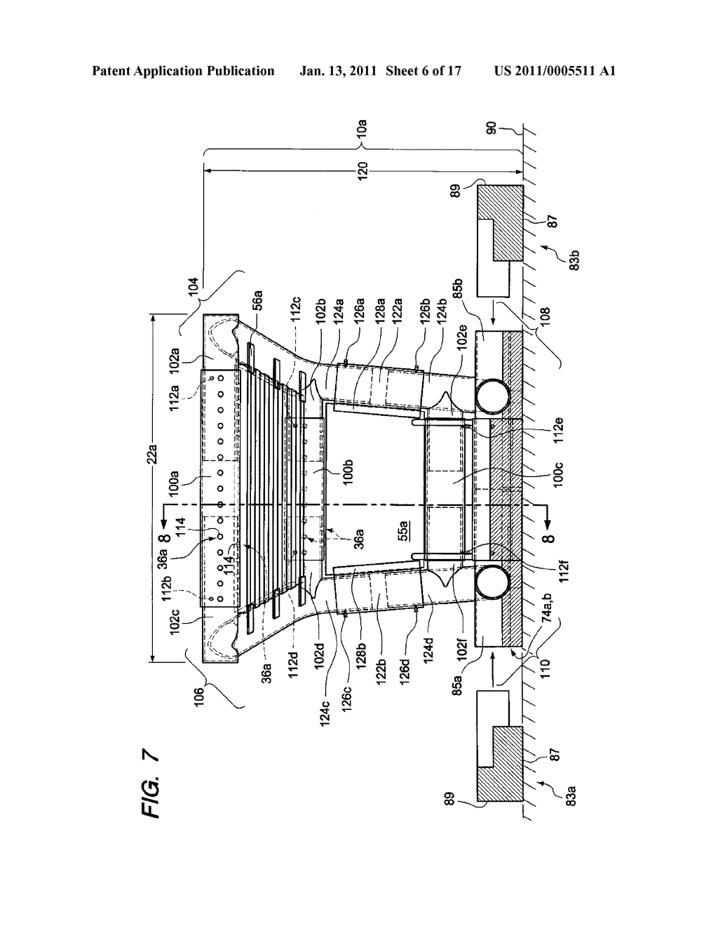 Fire Grate for Enhanced Combustion with Vertical and Horizontal Expansion Sleeves - diagram, schematic, and image 07