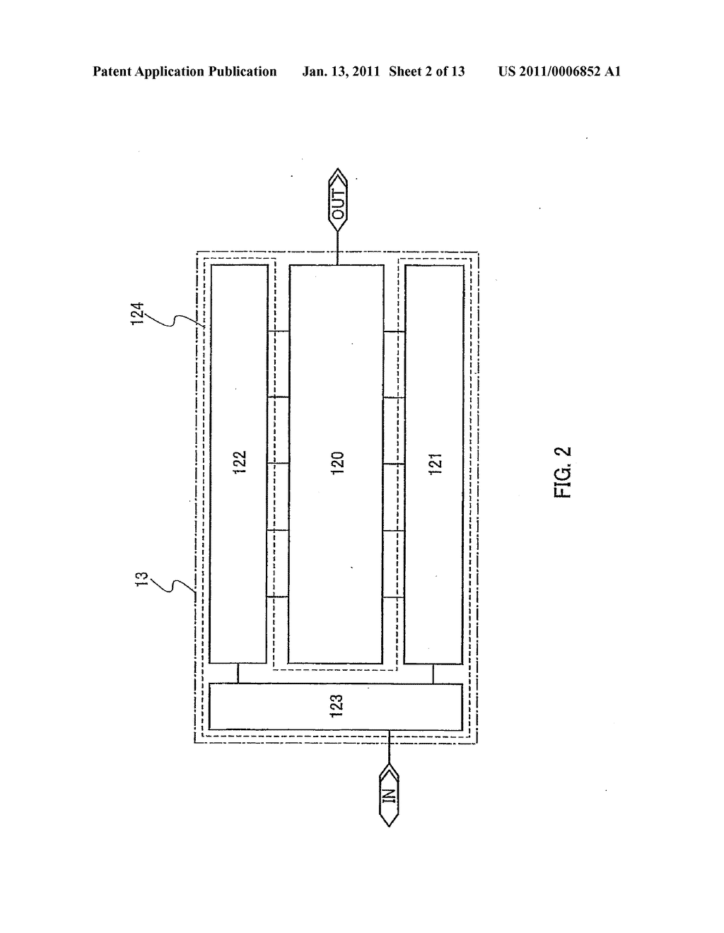 PLL CIRCUIT AND SEMICONDUCTOR DEVICE HAVING THE SAME - diagram, schematic, and image 03