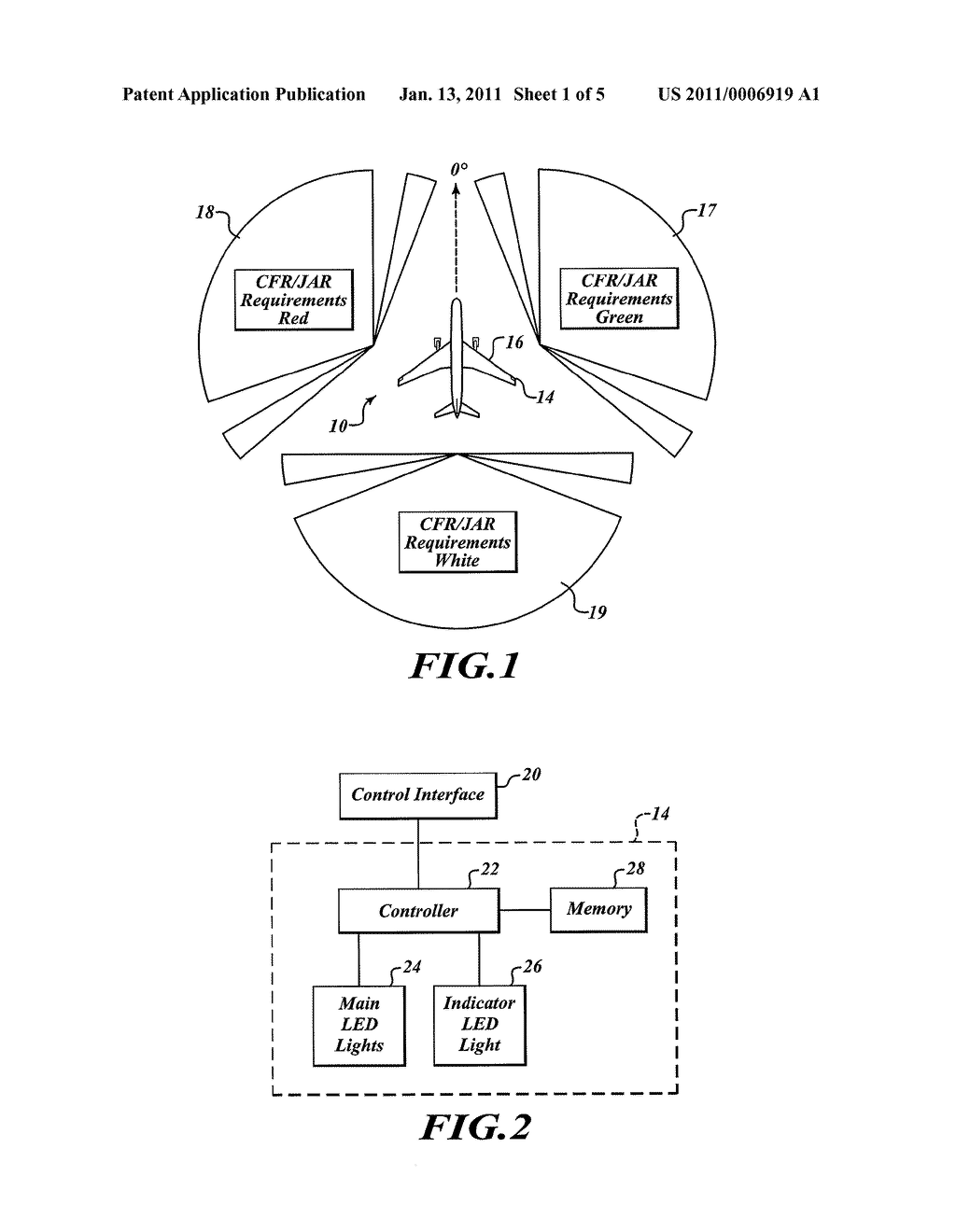 Navigation Light Schematic Diagrams Wiring Near End Of Life Indication For Emitting Diode Led Aircraft
