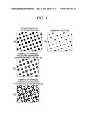Halftone Dot formation Method and Apparatus for Reducing Layer Thickness of Coloring Material Inside Halftone Dots, and Image Formation Apparatus diagram and image