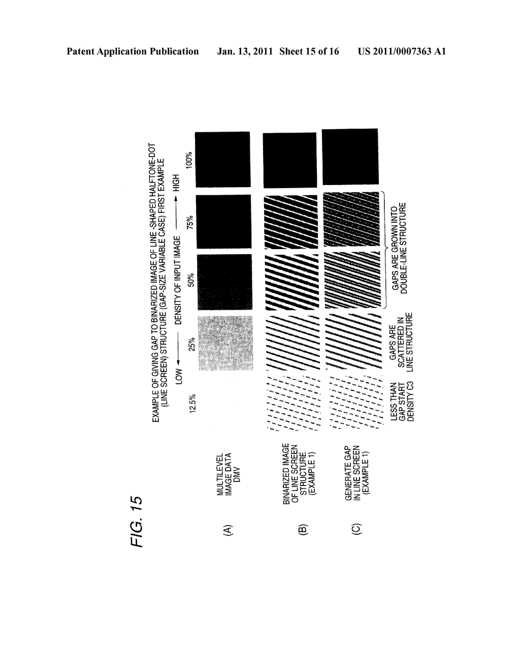 Halftone Dot Formation Method and Apparatus for Reducing Layer