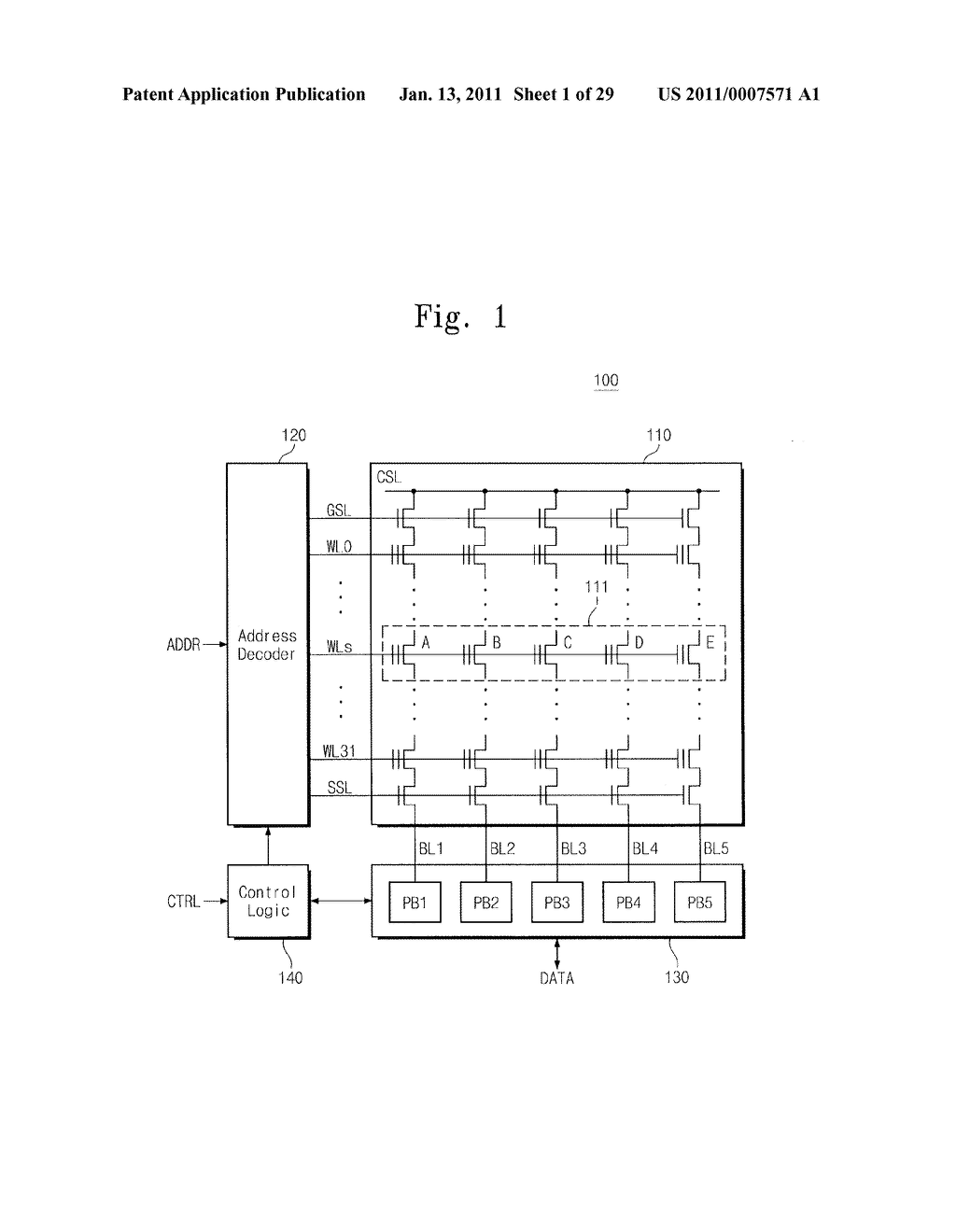 NONVOLATILE MEMORY DEVICES AND PROGRAM METHODS THEREOF IN WHICH A TARGET VERIFY OPERATION AND A PRE-PASS VERIFY OPERATION ARE PERFORMED SIMULTANEOUSLY USING A COMMON VERIFY VOLTAGE - diagram, schematic, and image 02