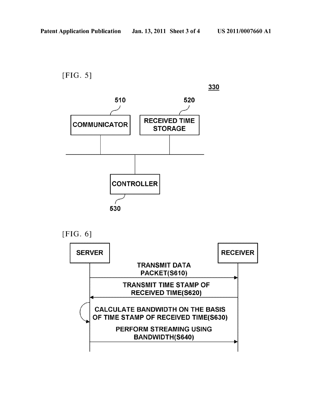SYSTEM FOR MEASURING TRANSMISSION BANDWIDTH FOR MEDIA STREAMING AND METHOD FOR SAME - diagram, schematic, and image 04