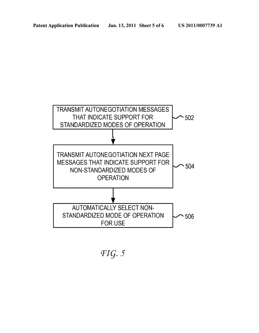 System and Method for Enhanced Physical Layer Device Autonegotiation - diagram, schematic, and image 06