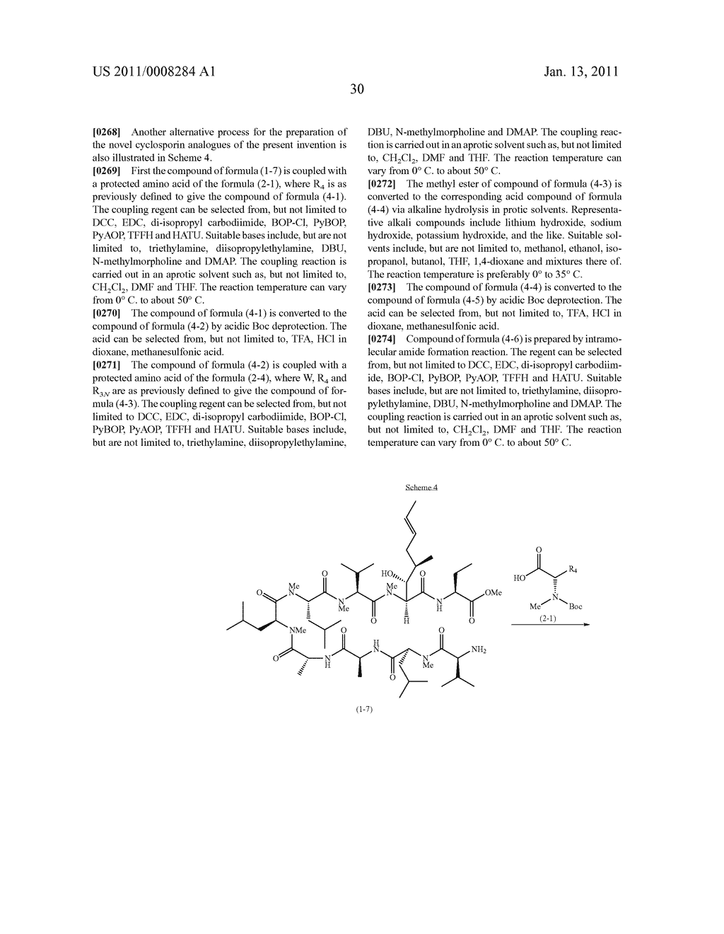 NOVEL CLYCLOSPORIN ANALOGUES - diagram, schematic, and image 31