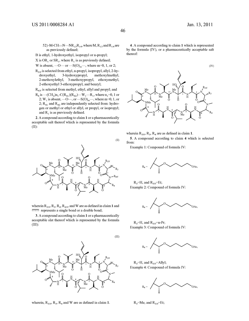 NOVEL CLYCLOSPORIN ANALOGUES - diagram, schematic, and image 47