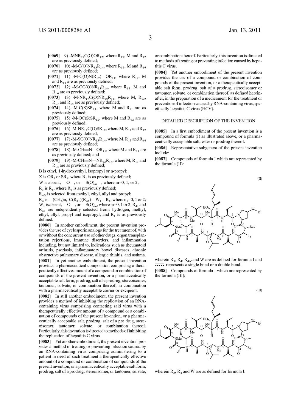 NOVEL PROLINE SUBSTITUTED CYCLOSPORIN ANALOGUES - diagram, schematic, and image 04