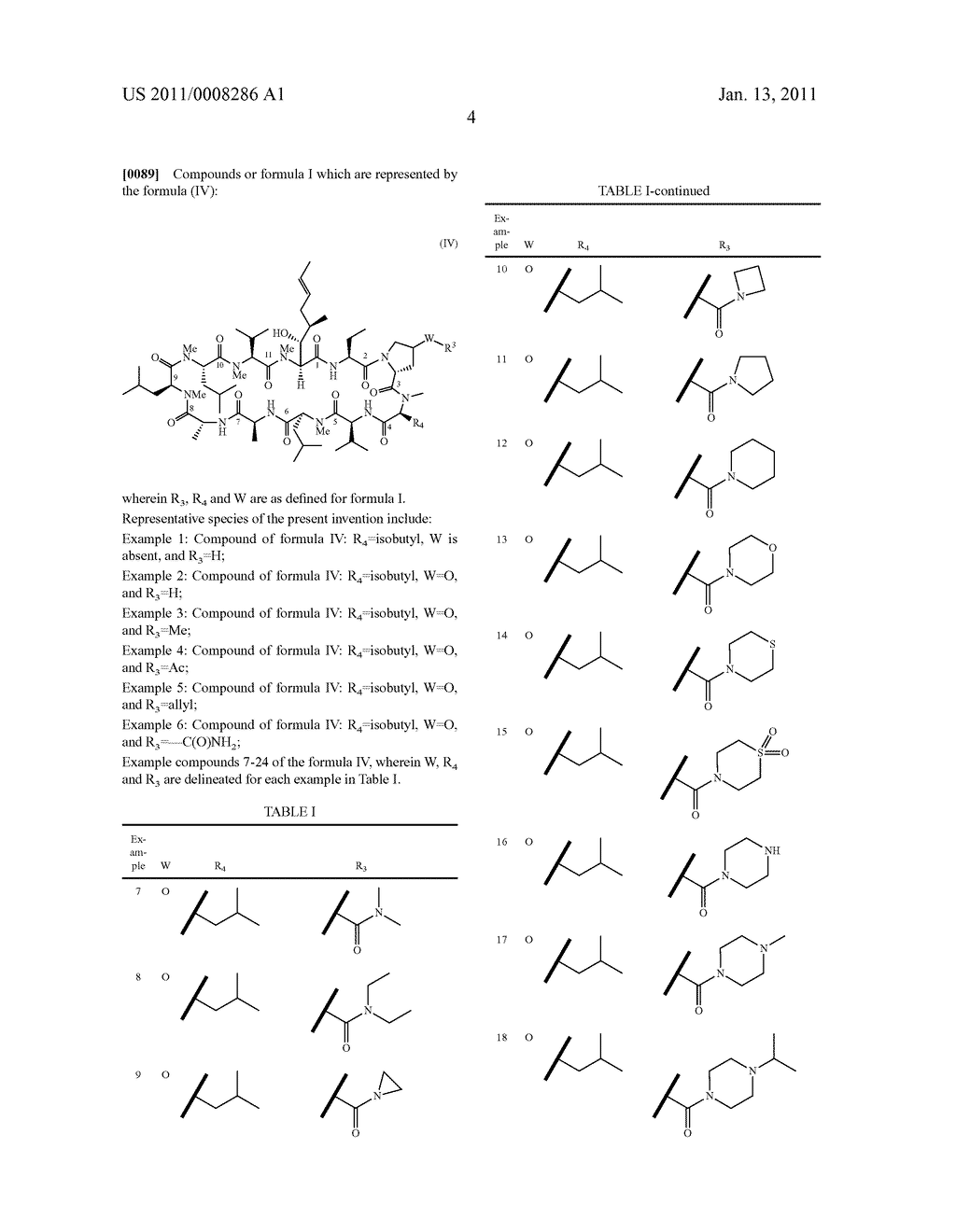NOVEL PROLINE SUBSTITUTED CYCLOSPORIN ANALOGUES - diagram, schematic, and image 05