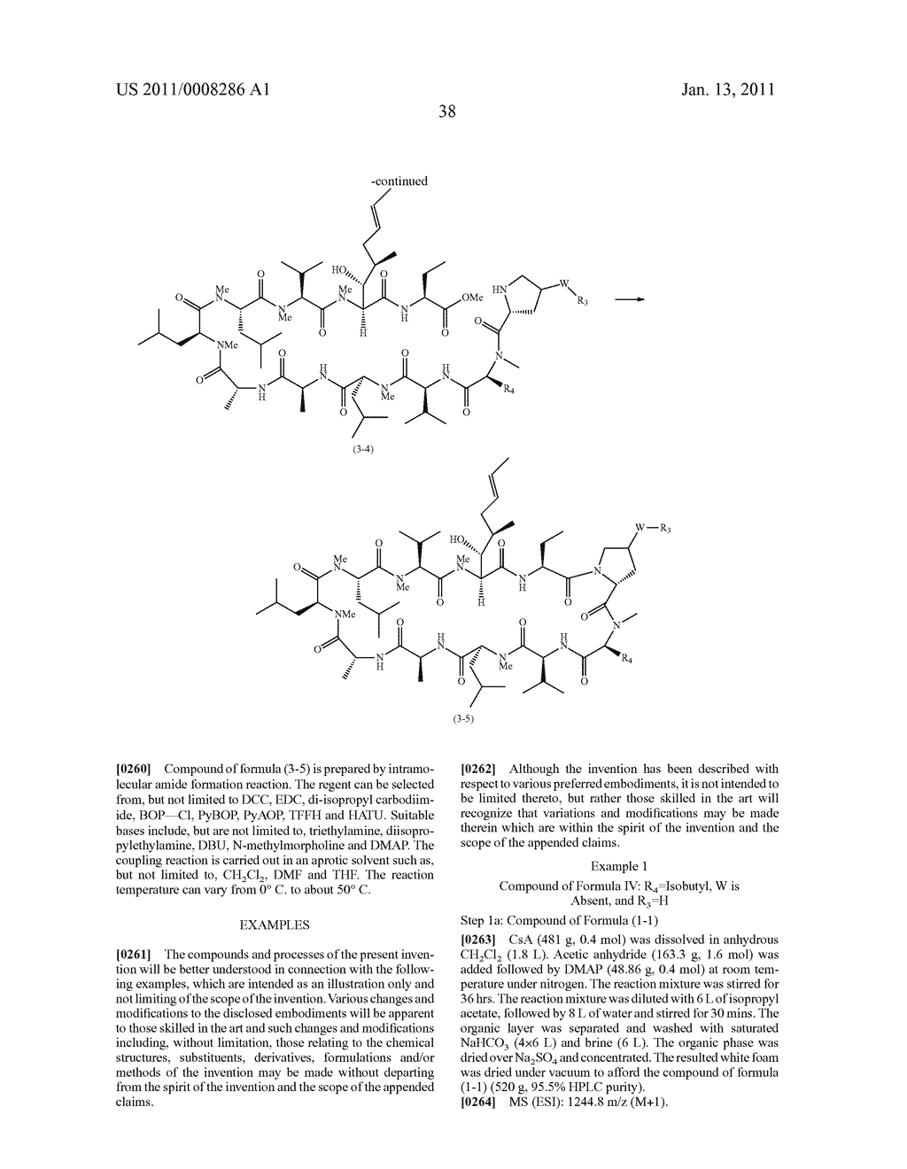 NOVEL PROLINE SUBSTITUTED CYCLOSPORIN ANALOGUES - diagram, schematic, and image 39