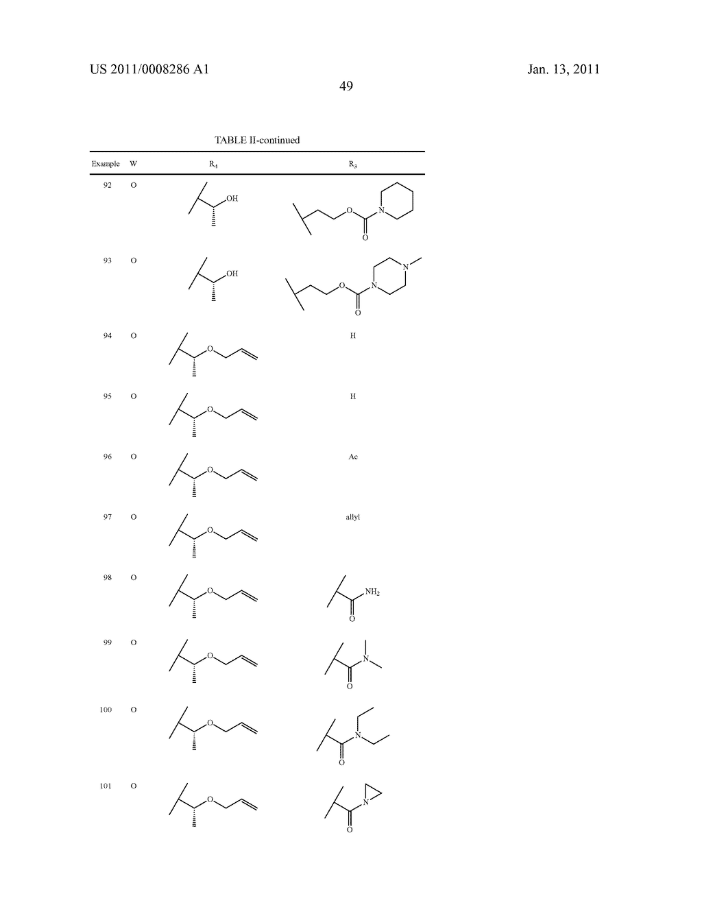 NOVEL PROLINE SUBSTITUTED CYCLOSPORIN ANALOGUES - diagram, schematic, and image 50