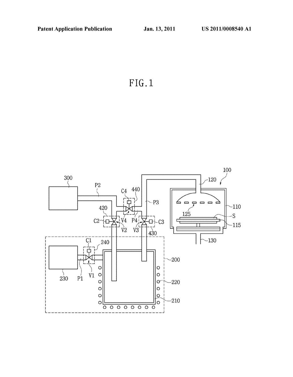 CANISTER FOR DEPOSITION APPARATUS, AND DEPOSITION APPARATUS AND METHOD USING THE SAME - diagram, schematic, and image 02