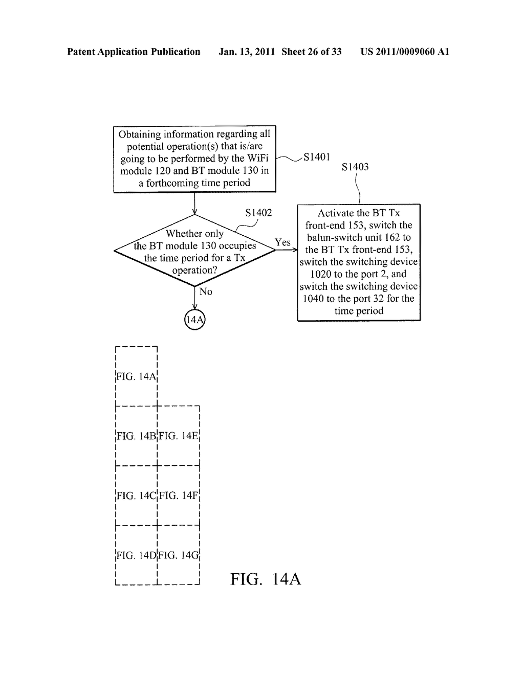 Systems and Methods for Reducing Interference Between a Plurality of Wireless Communications Modules - diagram, schematic, and image 27