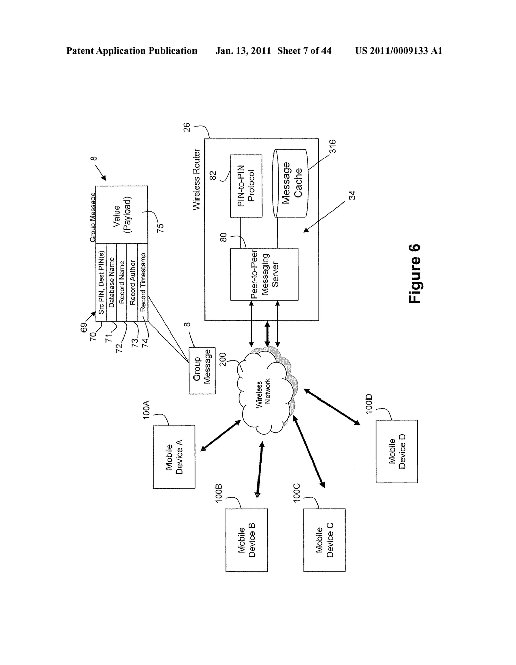System and Method for Managing Items in a List Shared by a Group of Mobile Devices - diagram, schematic, and image 08