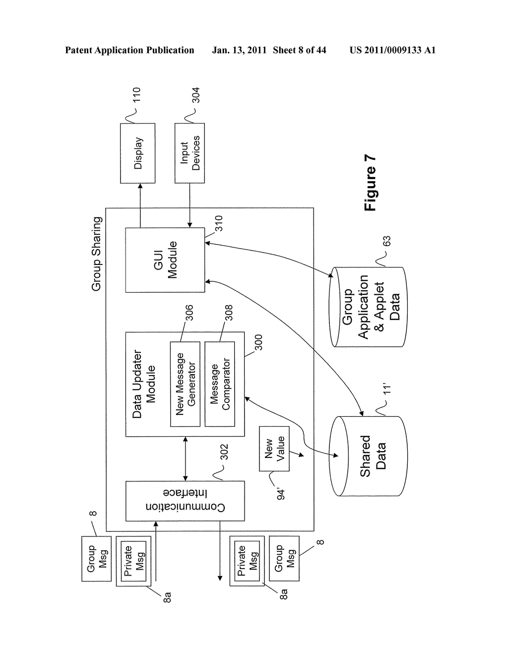 System and Method for Managing Items in a List Shared by a Group of Mobile Devices - diagram, schematic, and image 09