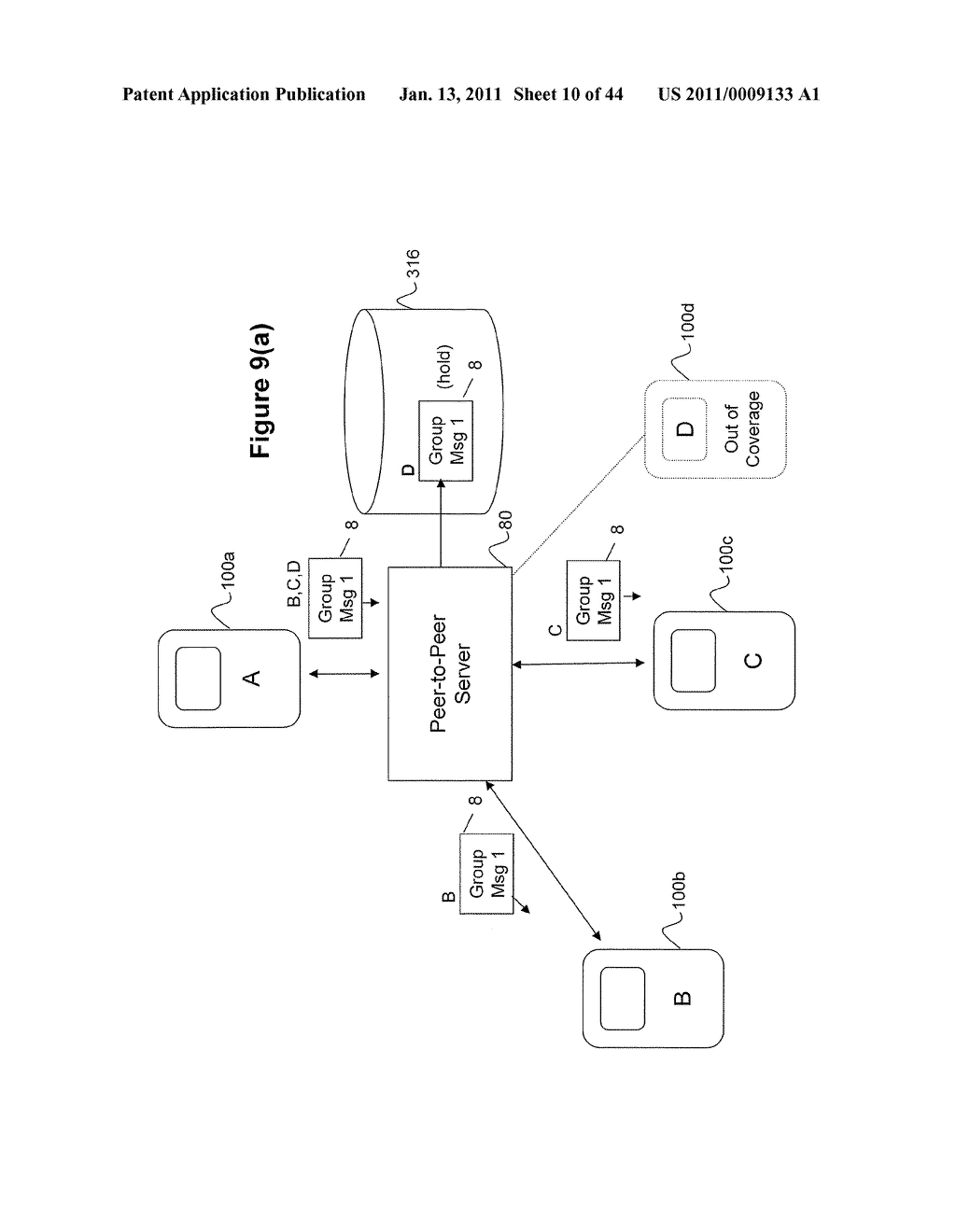 System and Method for Managing Items in a List Shared by a Group of Mobile Devices - diagram, schematic, and image 11