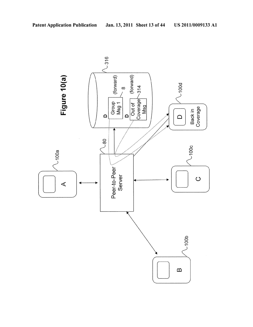System and Method for Managing Items in a List Shared by a Group of Mobile Devices - diagram, schematic, and image 14
