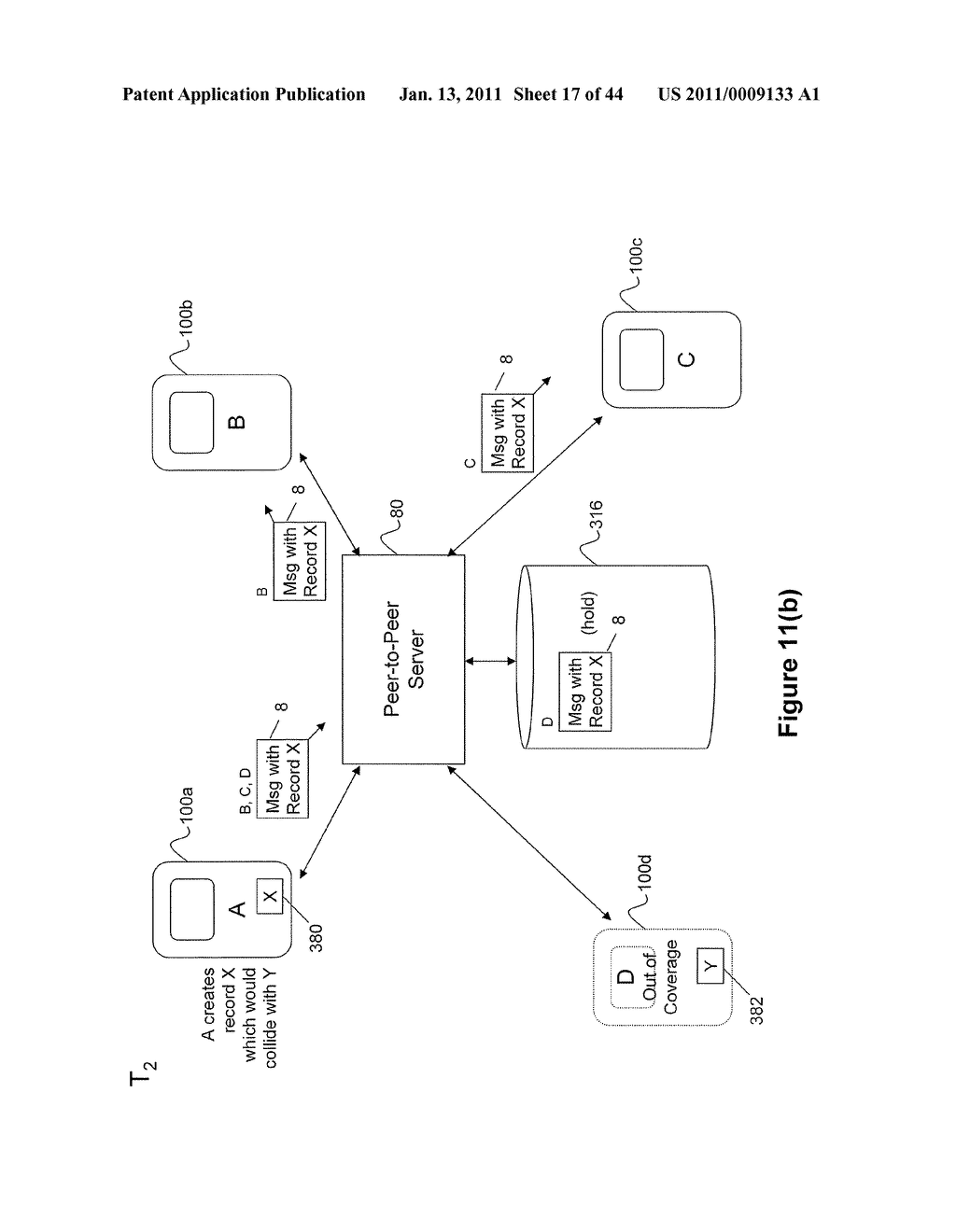 System and Method for Managing Items in a List Shared by a Group of Mobile Devices - diagram, schematic, and image 18