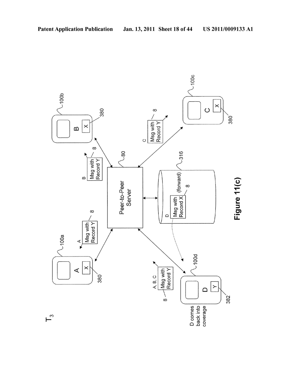 System and Method for Managing Items in a List Shared by a Group of Mobile Devices - diagram, schematic, and image 19