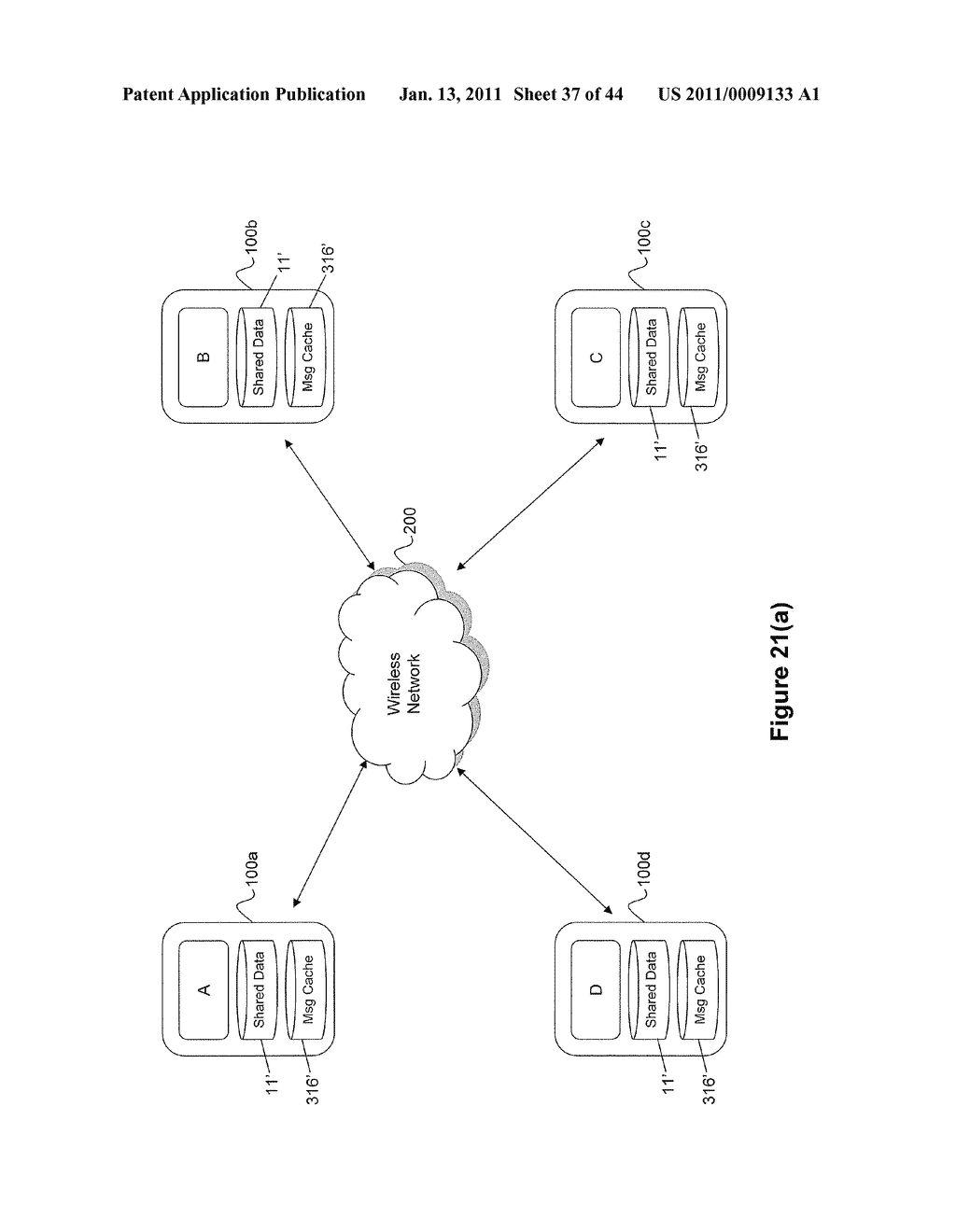 System and Method for Managing Items in a List Shared by a Group of Mobile Devices - diagram, schematic, and image 38