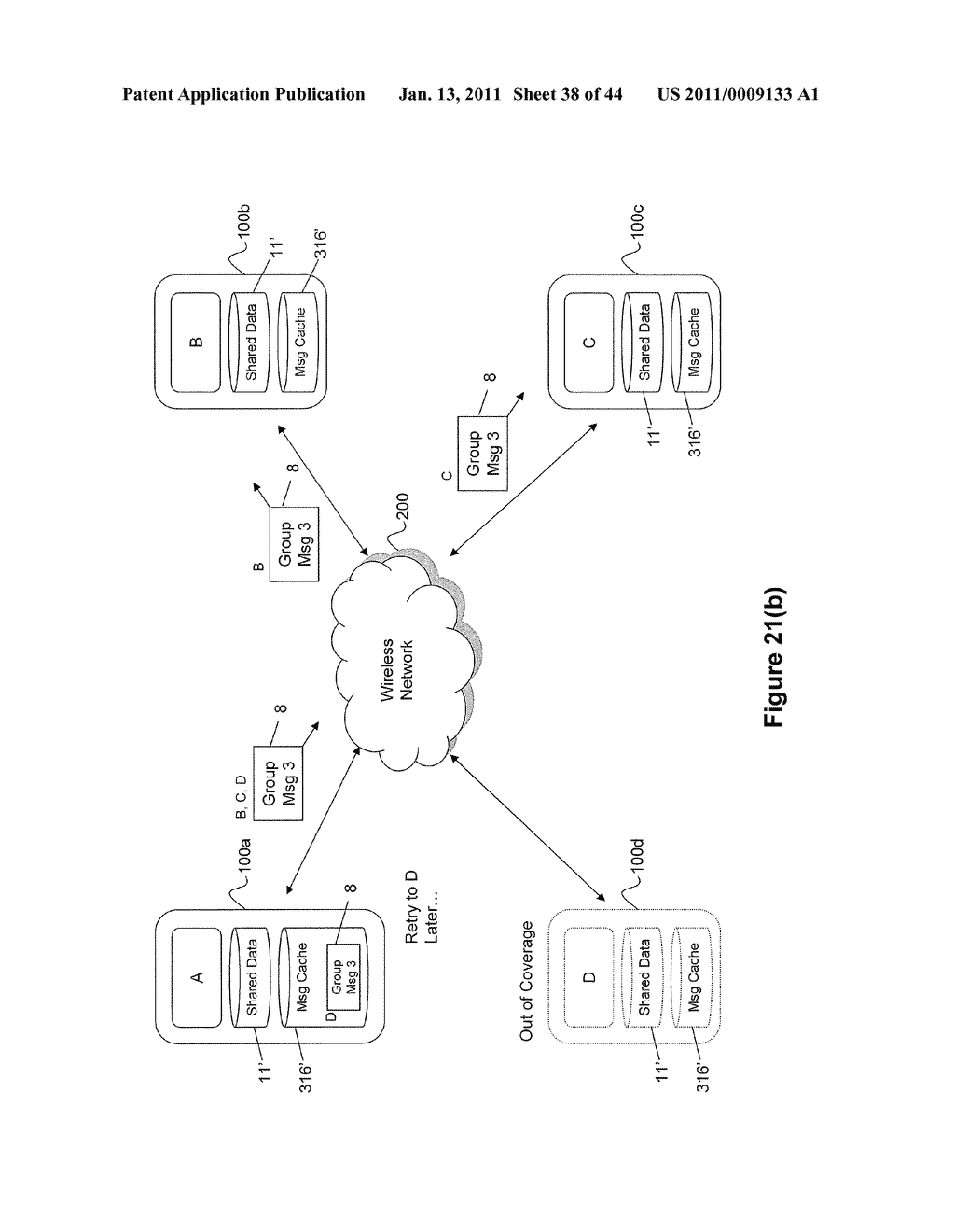 System and Method for Managing Items in a List Shared by a Group of Mobile Devices - diagram, schematic, and image 39
