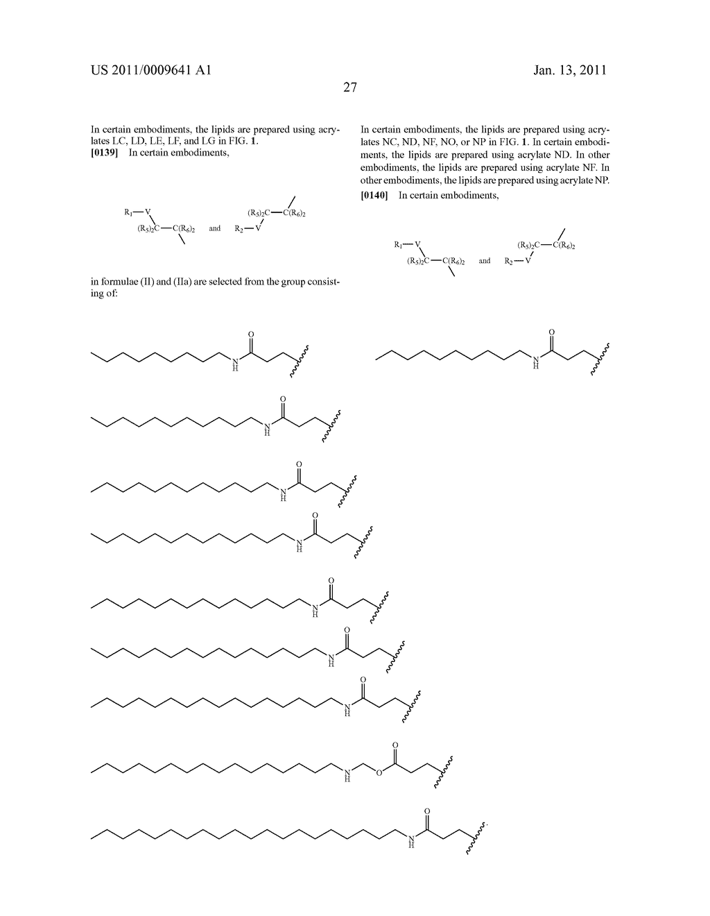 Amine-containing lipids and uses thereof - diagram, schematic, and image 35