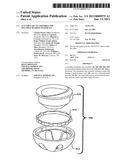 ACETABULAR CUP ASSEMBLY FOR MULTIPLE BEARING MATERIALS diagram and image