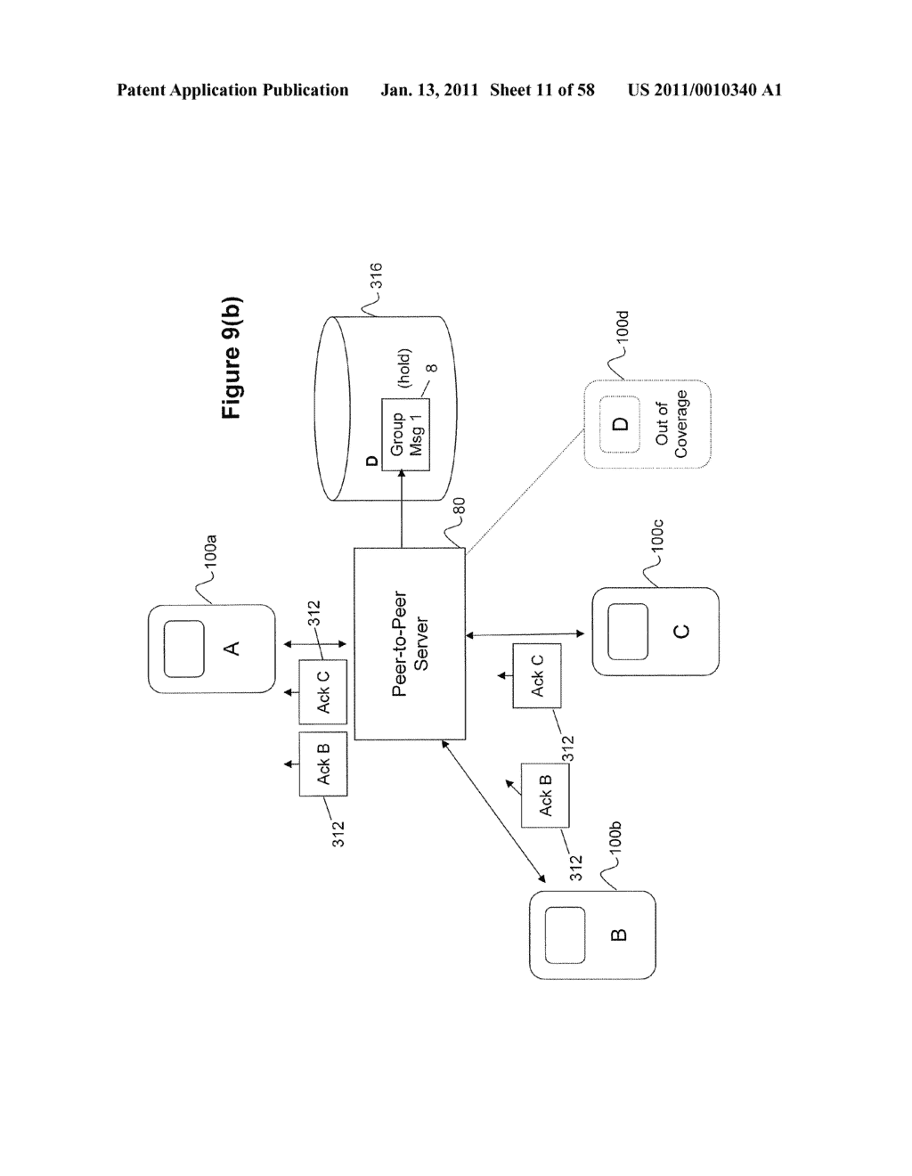 System and Method for Managing Items in a List Shared by a Group of Mobile Devices - diagram, schematic, and image 12