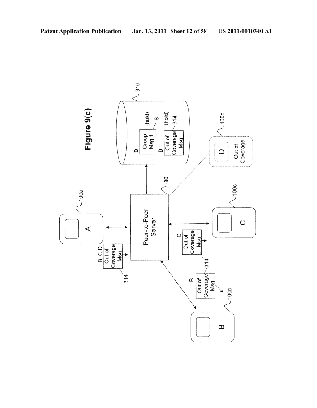 System and Method for Managing Items in a List Shared by a Group of Mobile Devices - diagram, schematic, and image 13