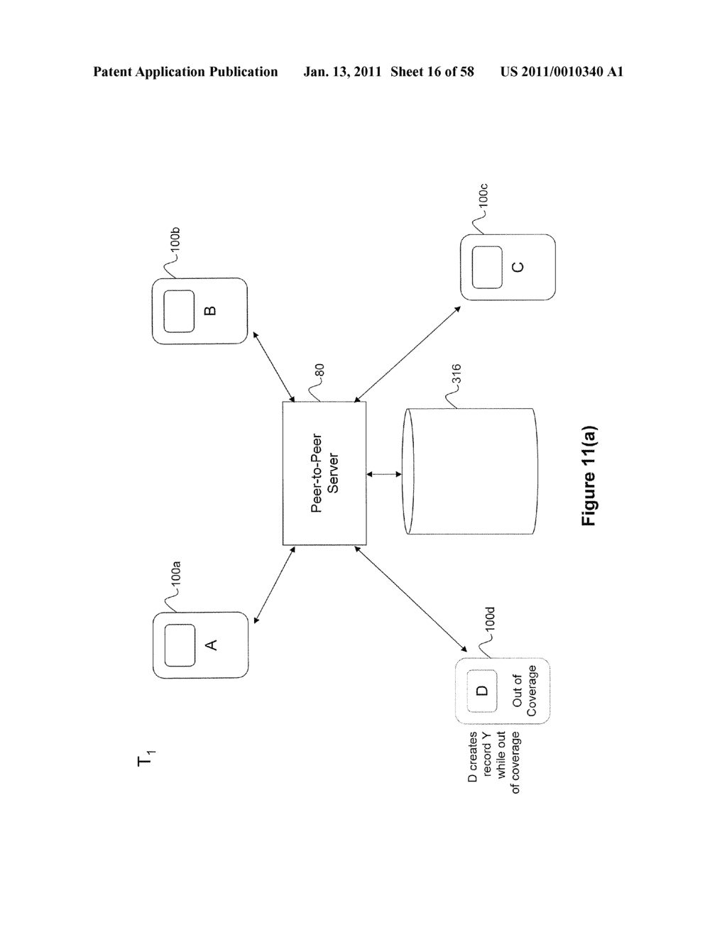 System and Method for Managing Items in a List Shared by a Group of Mobile Devices - diagram, schematic, and image 17