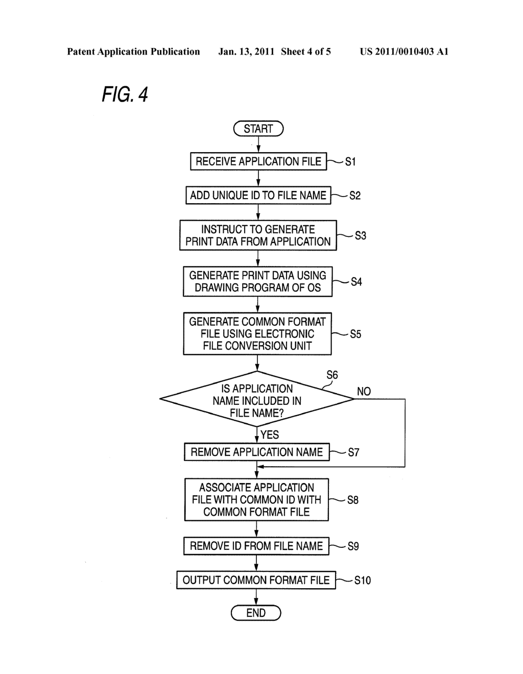 ELECTRONIC FILE CONVERSION APPARATUS, ELECTRONIC FILE CONVERTING METHOD AND COMPUTER READABLE MEDIUM - diagram, schematic, and image 05