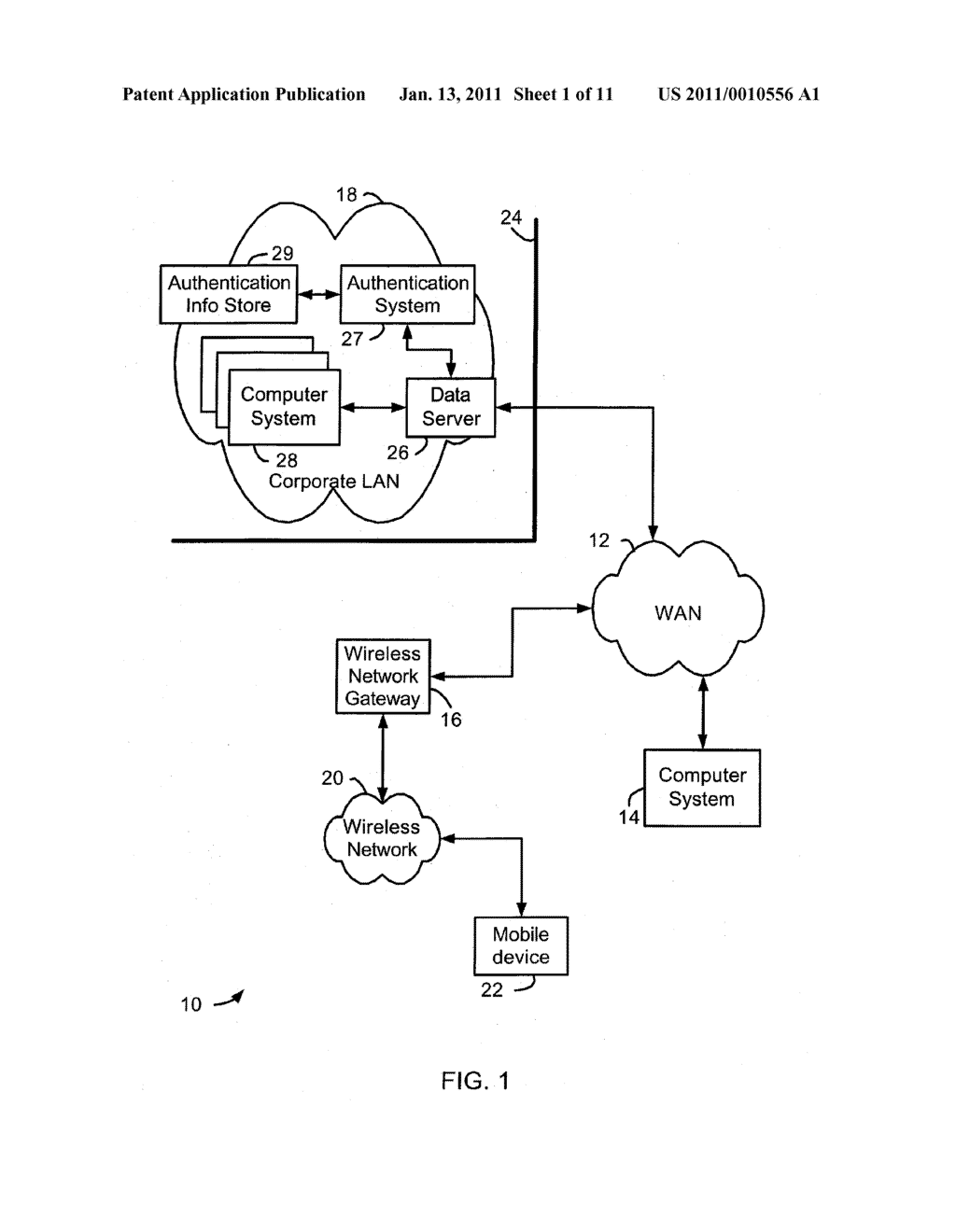 System and Method of Secure Authentication Information Distribution - diagram, schematic, and image 02