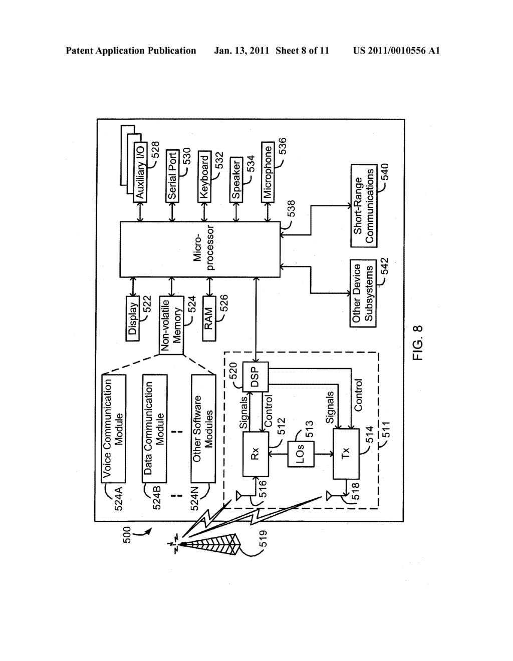 System and Method of Secure Authentication Information Distribution - diagram, schematic, and image 09