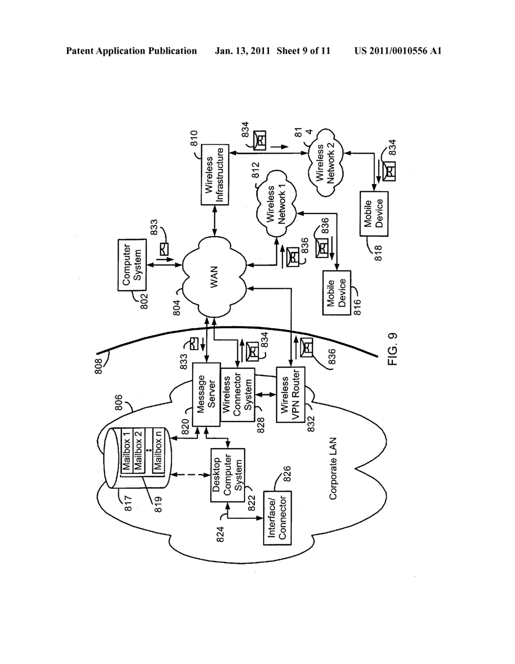 System and Method of Secure Authentication Information Distribution - diagram, schematic, and image 10
